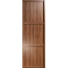 "Shaker Sliding Wardrobe Door 762mm (30"") Walnut Panel Door"